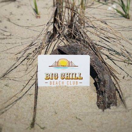 Big Chill Beach Club gift card