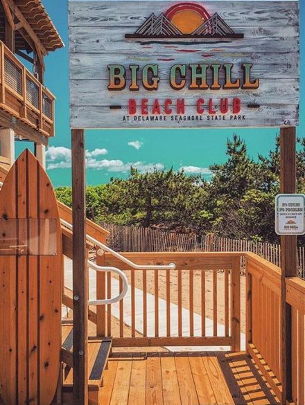 Big Chill Beach Club entrance